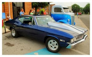 Blue 1968 Chevelle by TheMan268