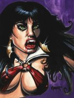 Vampirella Bite by adamgeyer