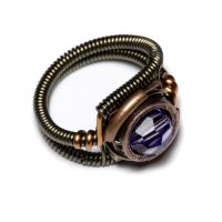 Steampunk Ring Tanzanite by CatherinetteRings
