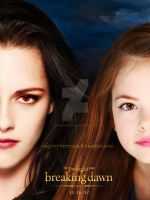 Bella and Renesmee - Breaking Dawn part 2 - poster by oXGeRRyBeRRyXo