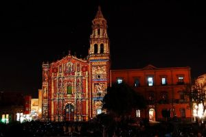 Lightshow in SLP by sandokanmx