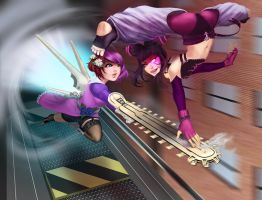 -Alisa vs Juri- by Bariarti