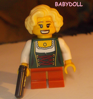 LEGO CUSTOM: BABY DOLL by TMNTFAN85