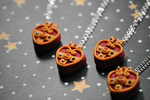 Cosmic Heart Necklaces by eserenitia