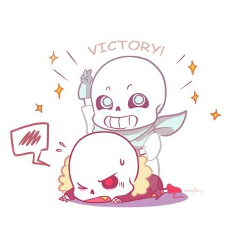 Chibi victory by Ketchupberry