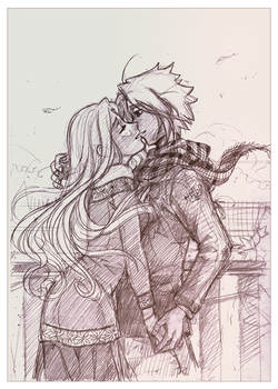 Where's spring D: - sketch by meago