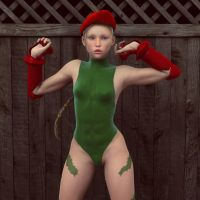 Cammy Front Shoot by sawada51