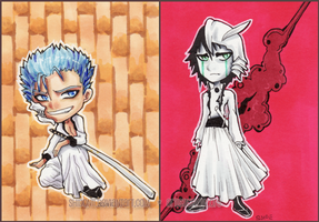 Ulquiorra and Grim ATC by shidonii