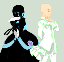 ServantofEvil-An Outcast And Her Servant :Collab: by TFAfangirl14