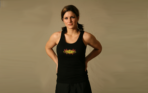 Gina Carano Wall 4 by schizosmurf