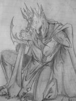 Dark lord Melkor by SESHOYASHAJUNIOR