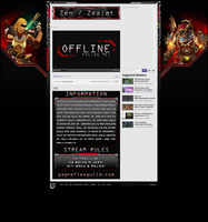 Zen Twitch.TV Layout by Melificence