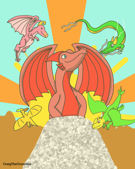 The Pure Dragons by Gontopia-Realm