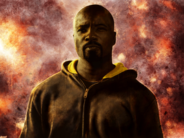 Luke Cage by p1xer