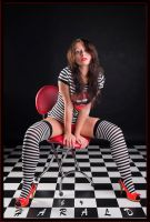Black, White, Red by HaraldW