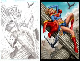 Supergirl by valiantonov by blewh