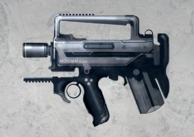 Speed painted SMG kokk by torvenius