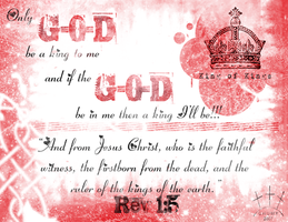 King of Kings, Rev. 1:5 by oober-zombie
