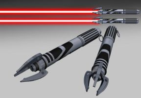 Darth Biomech's lightsabers by darth-biomech
