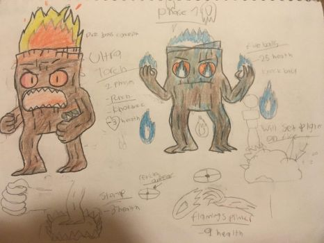 Plant Boss Concept: phase 1  by Slick0509