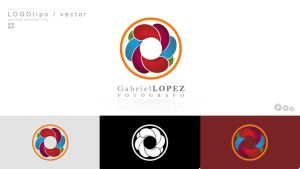 LOGOVECTOR PAUNDPRO Gabriel Lopez by paundpro