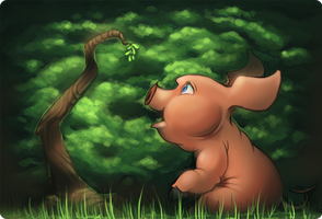 Little Pig by Jabnormalities