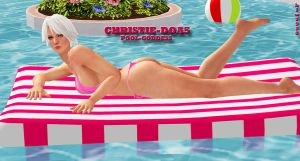 Christie-DOA5    POOL-GODDESS by blw7920