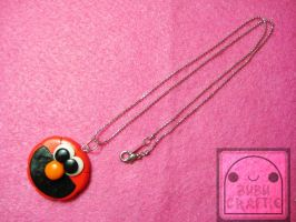 Elmo Necklace by efeeha