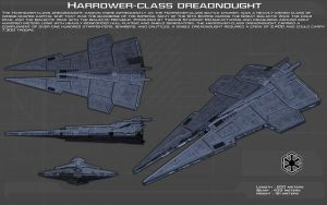 Harrower Class Dreadnought ortho [New] by unusualsuspex