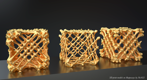Fractal 3D Printing on Shapeways by nic022