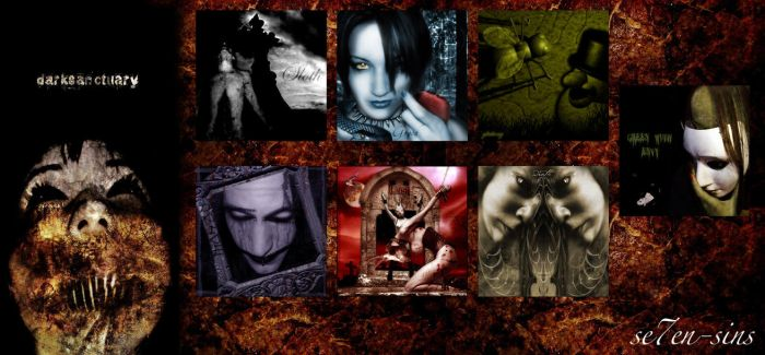 7 Sins  -Group 1- by darksanctuary