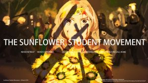 Sunflower Student Movement 2 by ye-fan