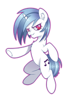 Vinyl Scratch by therainpony
