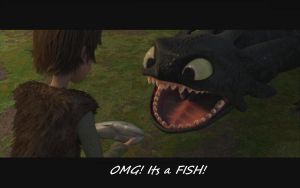Omg Fishie by BlueEvelyn