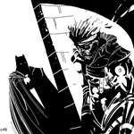 Batman vs Solid Snake by NoBullet