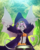 CotD - Allie the Witch by SatraThai
