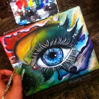 Just another eye painting by artisticalshell