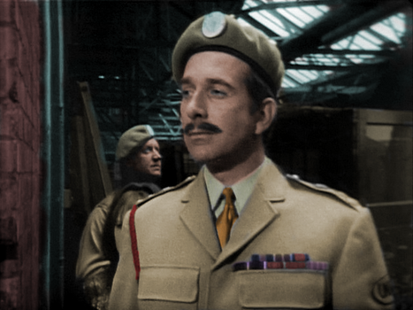 Colorized 'Invasion' Brigadier by SoundsmythProduction