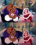 Beauty and the Beast - Paintover by xteh