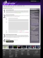 Trancetribe Submit News Page by scottrichardson