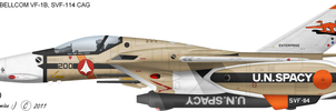 VF-1B SVF-114 CAG by talos56