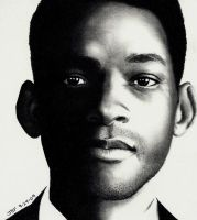 Will Smith - Pencil Drawing by Rick-Kills-Pencils
