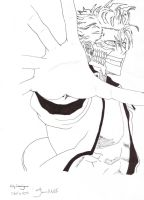 Grimmjow V24 lineart by JenniMGF