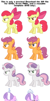 MLP Resource: Have Some Ponies 01 by ZuTheSkunk
