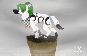 Stand in the rain by InnuendoPatlong