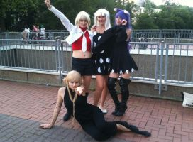 Soul Eater girls at CosDay 2012 by Miata511