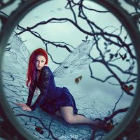 Trapped In My Own Dream by eivina-art