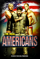 WWE - THE REAL AMERICANS poster by TheIronSkull