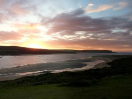 Estuary Sunset by NiftyBadger