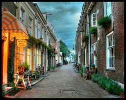 The Streets of Delft by mrotsten